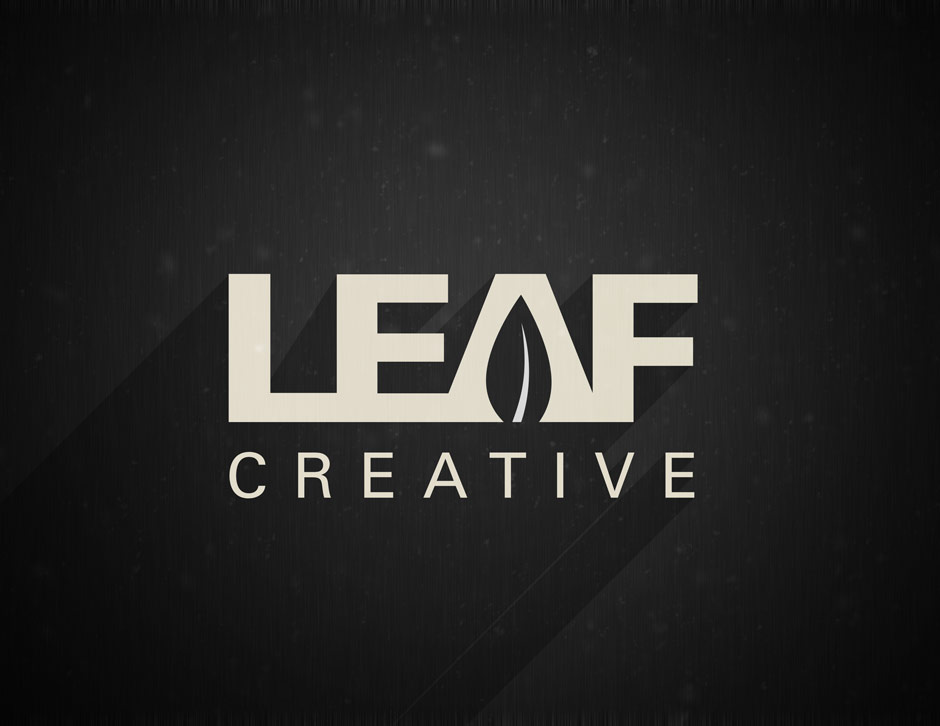 Leaf Creative - logo design