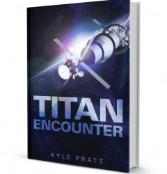 Titan Encounter - book cover design