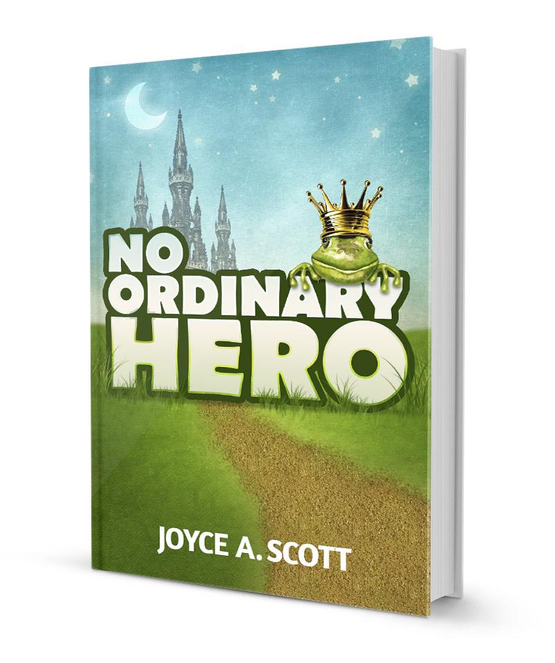 No Ordinary Hero - book cover