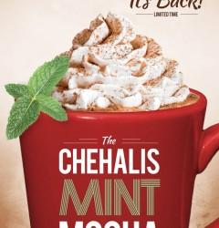 Cuppa Joe Chehalis Mint Mocha - poster-design