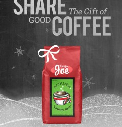 Cuppa Joe, Holiday Blend coffee - poster design