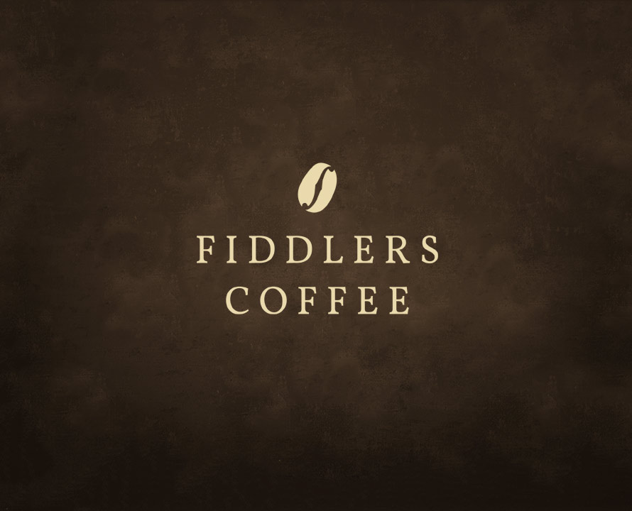 Fiddlers Coffee - logo design