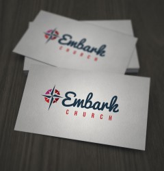 Embark Church - logo design