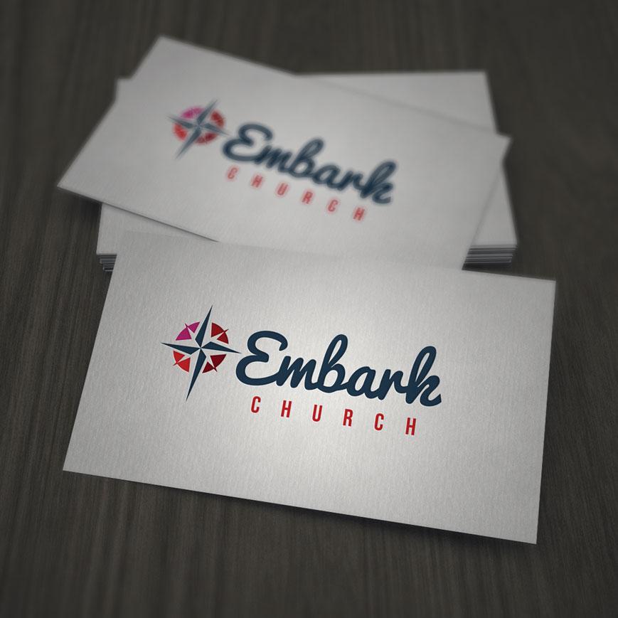 Embark Church - logo design