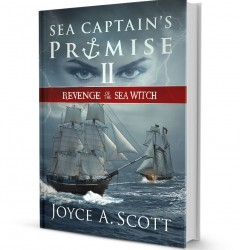 Sea Captains Promise II - book cover design