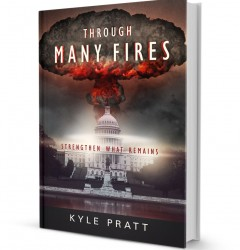 Through Many Fires - book cover design