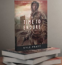 A Time to Endure - book cover design