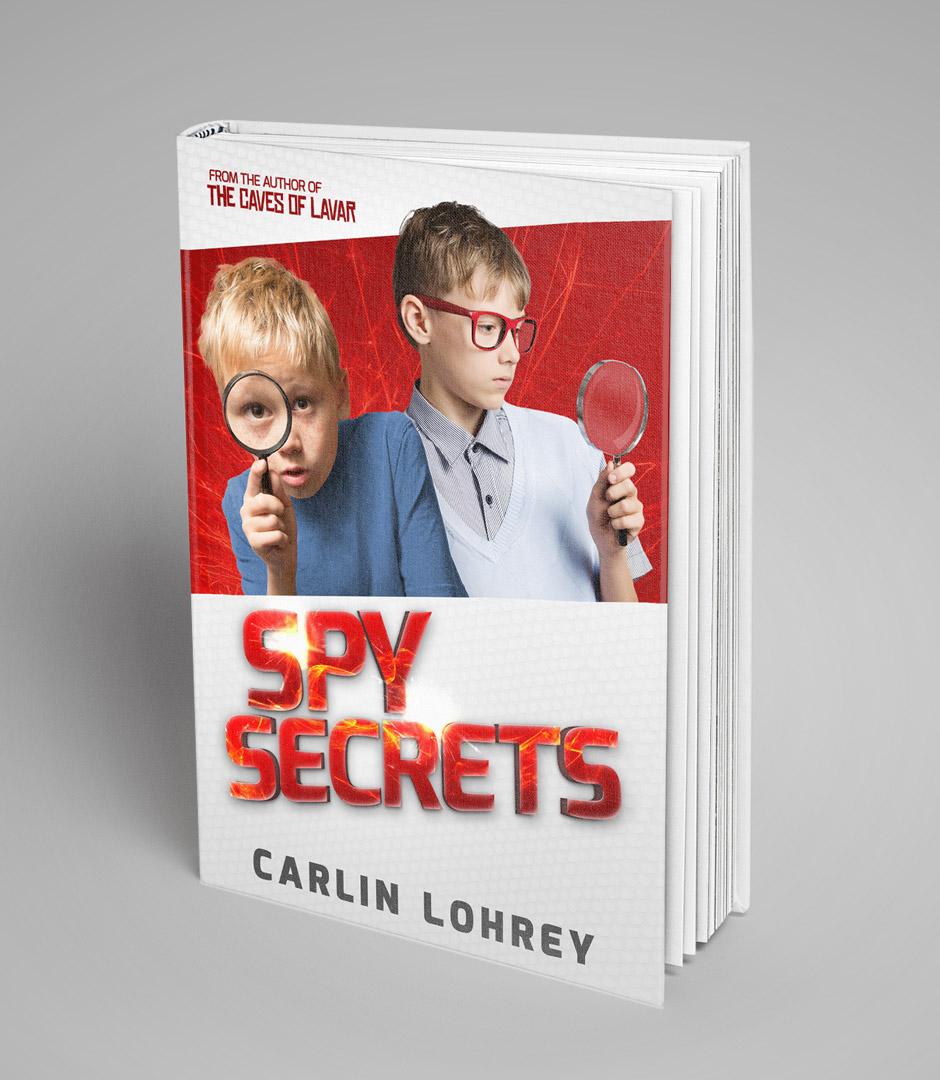 Spy Secrets - book cover design