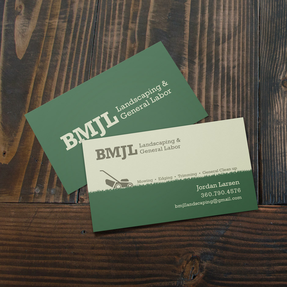 BMJL - business card design