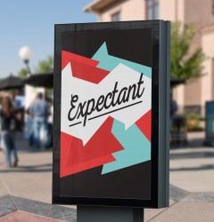 Expectant - banner design