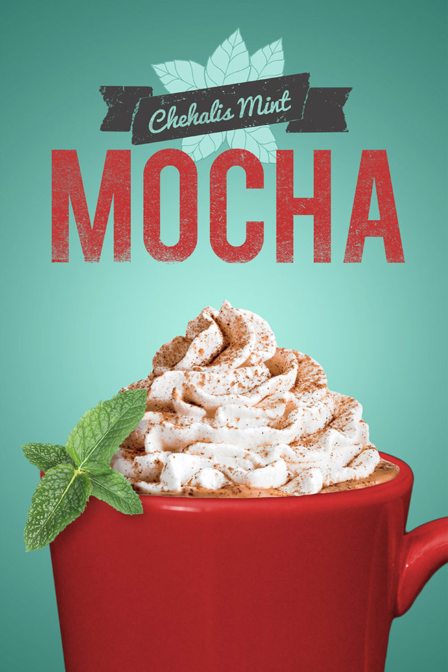 Fiddlers Coffee - Chehalis Mint Mocha - poste design 02b