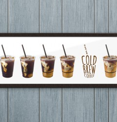 Fiddlers Coffee - Cold Brew - poster design