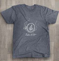 Fiddlers Coffee - shirt design