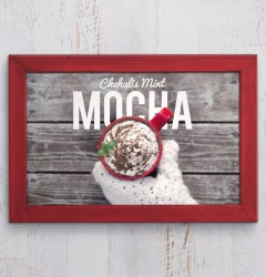 Fiddlers Coffee - Chehalis Mint Mocha 04 - poster design