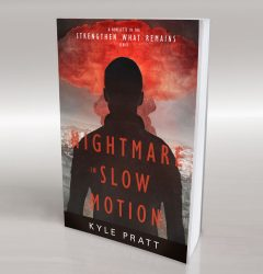 Nightmare in Slow Motion - book cover design 02