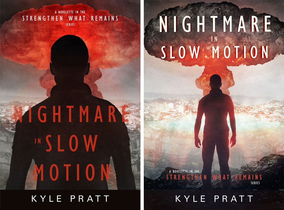Nightmare in Slow Motion - book cover design 03