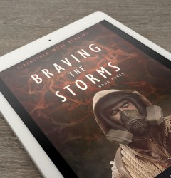 Braving the Storms - book cover design 02