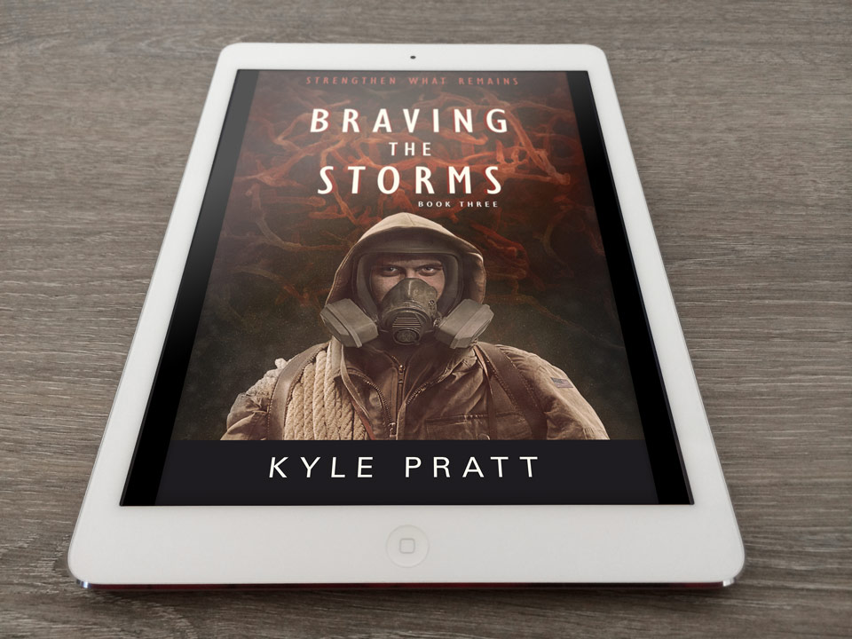 Braving the Storms - book cover design 03