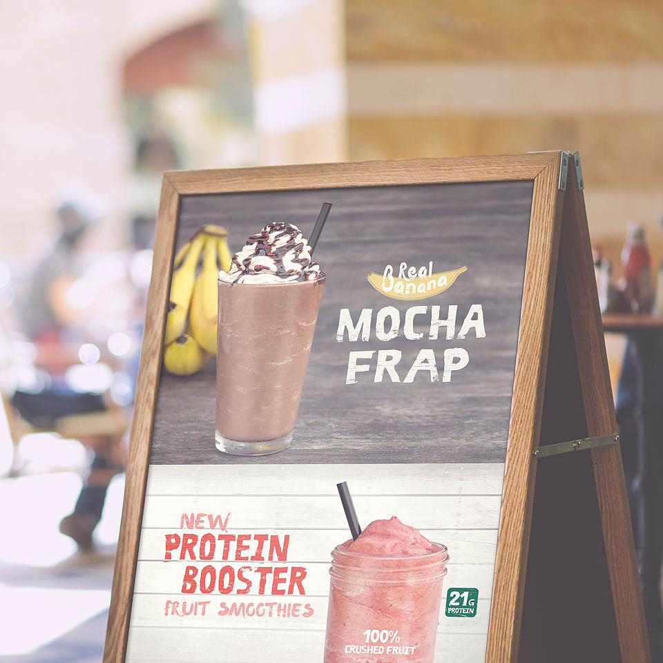 Fiddlers Coffee - Banana Mocha Frap