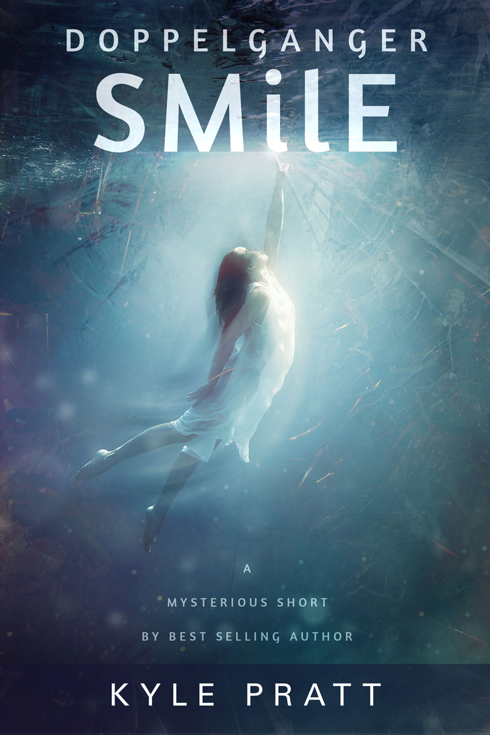 Doppelganger Smile - book cover design