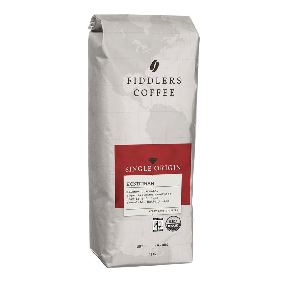 Fiddlers Coffee – coffee bag design