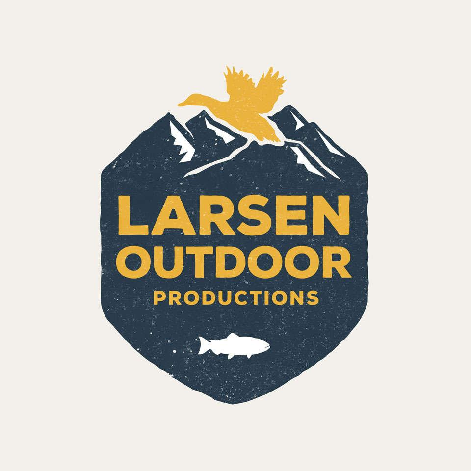 Larsen Outdoor Productions - logo design